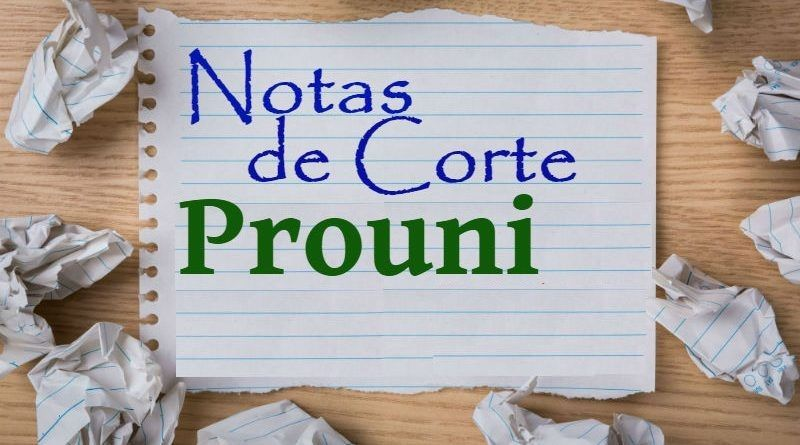 Nota de Corte Prouni